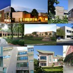 Photo montage of ATSU building exteriors from the Virtual Community Health Center