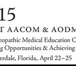 Logo icon: Joint AACOM & AODME Annual Conference